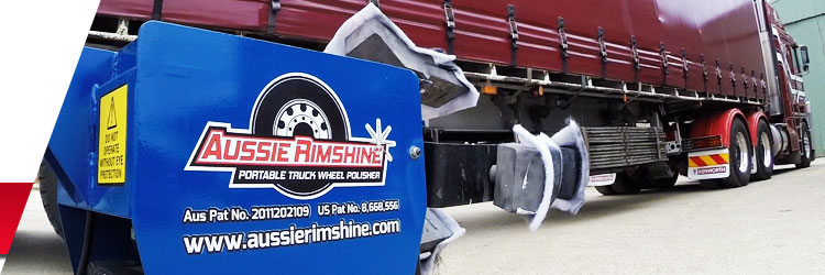 Aussie RimShine - Portable Truck Wheel Polisher