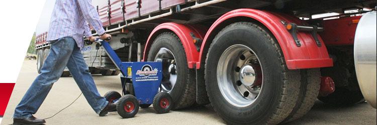 truck alloy wheel polishing machine