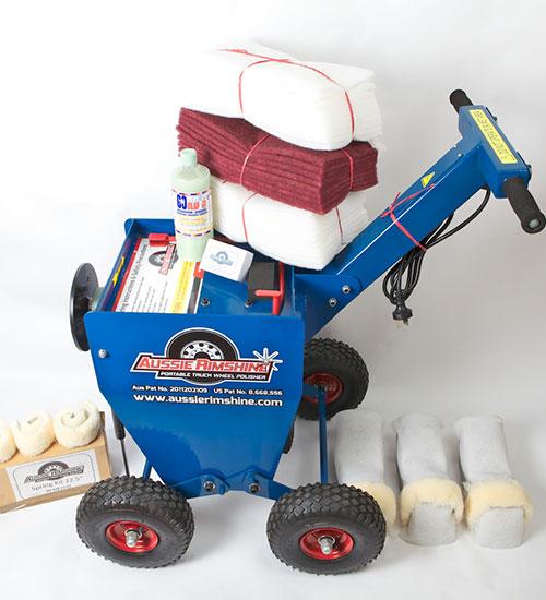 aluminum truck polisher machine