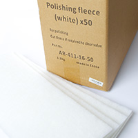 Polishing Fleece (White) x50